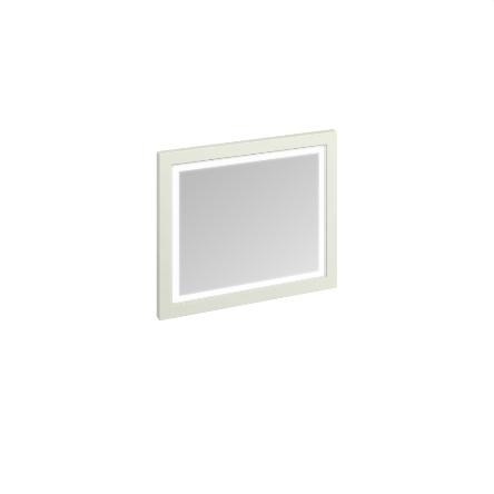 Зеркало в раме 90см с LED подсветкой