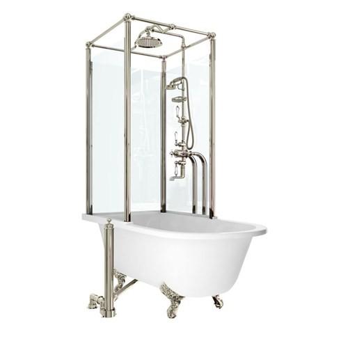 Ванна с душевым ограждением Royal